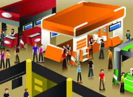 لماذا تفتح المحلات ذات النشاط المتشابه في نفس المنطقة؟ إليك الجواب
