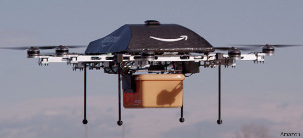 Drohnen sind eine Gefahr für Menschen und Haustiere - so will Amazon Pakete anstattdessen ausliefern