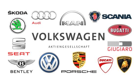 volkswagen companies