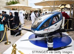 Dubai To Launch Flying Drone Taxis In July