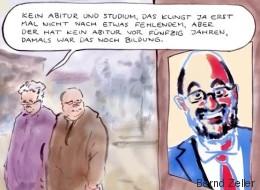 Satirischer Rückblick: Schulz ist die Fachkraft aus Europa