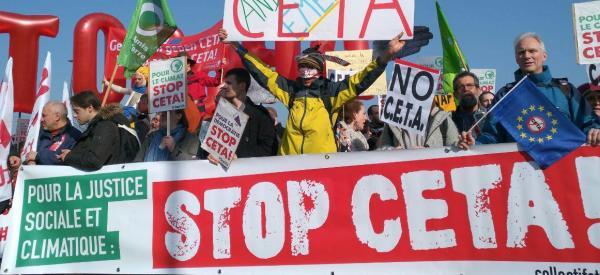 ¿Por qué votar contra el CETA, el TTIP canadiense?