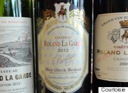 Les trois vins rouges du Château Roland La Garde à Bordeaux