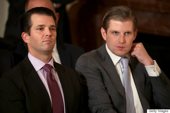 eric trump donald trump jr