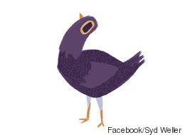 Pourquoi cet oiseau mauve s'invite-t-il dans toutes vos conversations Facebook?