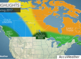 Here's Your Spring Forecast, Canada. But Who The Hell Knows Anymore.