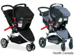 Britax Stroller Sets Recalled In Canada After Car Seats Fall Off