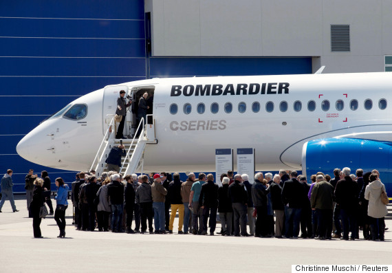 Bombardier posts loss as revenue declines