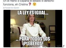 Los memes sobre la condena a la infanta y Urdangarin