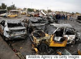 바그다드서 테러로 100여명의 사상자 발생하다