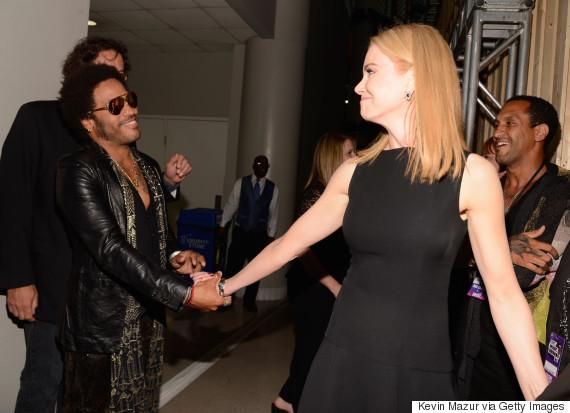Nicole Kidman 'was engaged to rock star Lenny Kravitz'