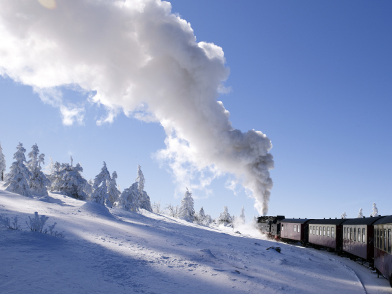 harz mountains train