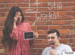 Paraplegic Man And Fiancée Share Cheeky Pregnancy Announcement