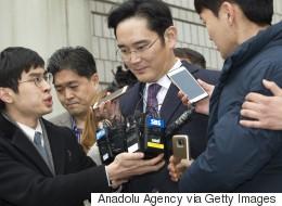 Samsung's Billionaire Heir Is Behind Bars