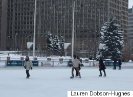 Spontaneous Skating Lesson Is Why Canada Is 'Ridiculous And Wonderful'