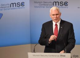 US-Vizepräsident Pence: Regierung Trump steht fest zur Nato