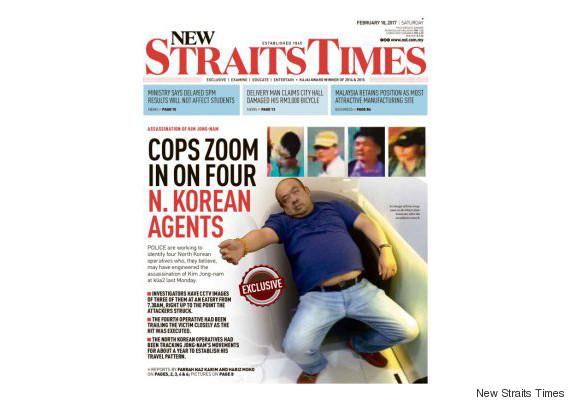 kim jong nam newspaper