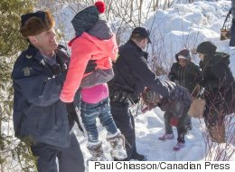 What Happened At The U.S.-Canada Border Before This Photo Was Taken