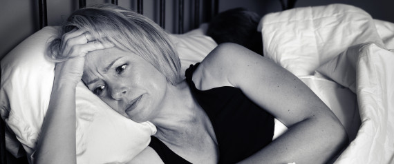 WOMAN BED AWAKE NIGHT