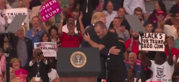 Der Auftritt von Gene Huber zeigt, wie das System Trump funktioniert
