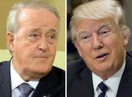 Watch Brian Mulroney Serenade Donald Trump With Irish Medley