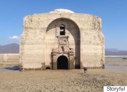 Historic Drought Uncovers Flooded 400-Year-Old Mexican Church