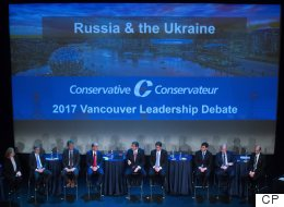 Carbon Tax Draws Sharp Exchange At Unofficial Tory Leadership Debate