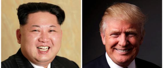NORTH KOREAN LEADER AND TRUMP