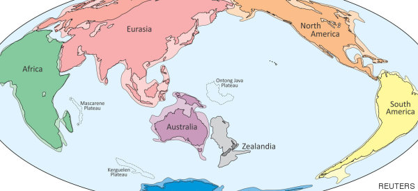Los geólogos ratifican la existencia de un continente sumergido en el Pacífico