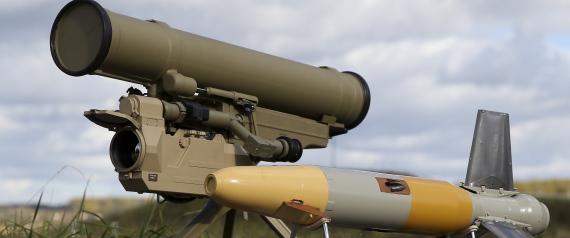 RUSSIAN ANTITANK MISSILES