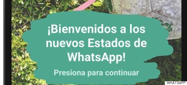El contenido efímero llega a WhatsApp: así son los nuevos estados