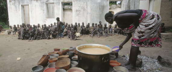 FAMINE IN SOUTHERN SUDAN