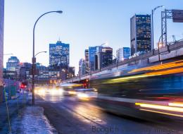 Montréal est la ville la plus congestionnée au Canada