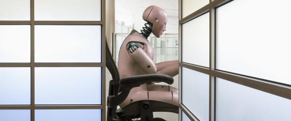 ROBOT WORKING