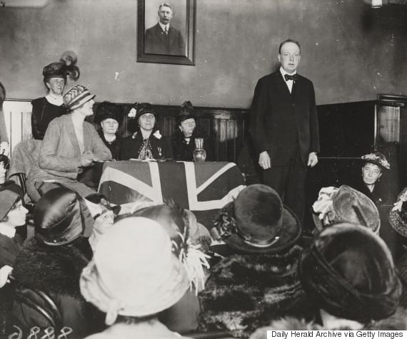 winston churchill speech