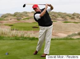 트럼프는 임기 30일 동안 6번이나 골프를 쳤다