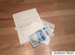 북아일랜드의 한 여성이 7천만원 짜리 5파운드 지폐를 기부한 이유