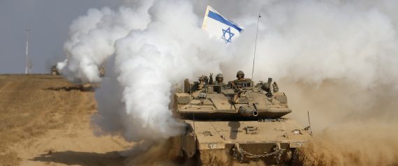 THE ISRAELI ARMY ON THE BORDERS OF EGYPT