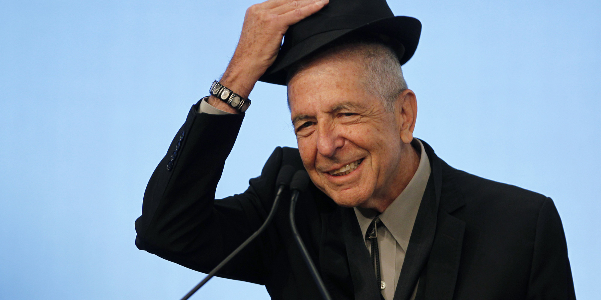 Let's Give Leonard Cohen A Literal Stamp Of Approval   Robert Waite