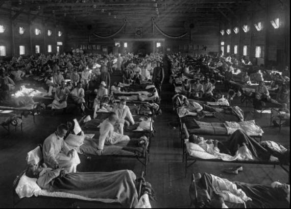 spanish flu patients