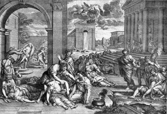 black plague europe