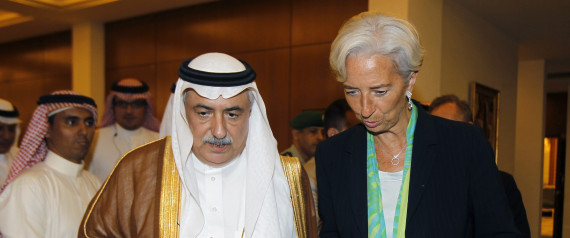 CHRISTINE LAGARDE ARABIA