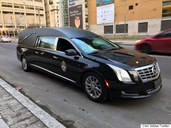 toronto police hearse