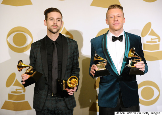 macklemore and ryan lewis grammys 2014