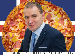 아이슬란드 대통령은 파인애플 피자가 끔찍하다