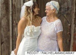 92세 할머니가 결혼식 들러리가 된 사랑스런 이유