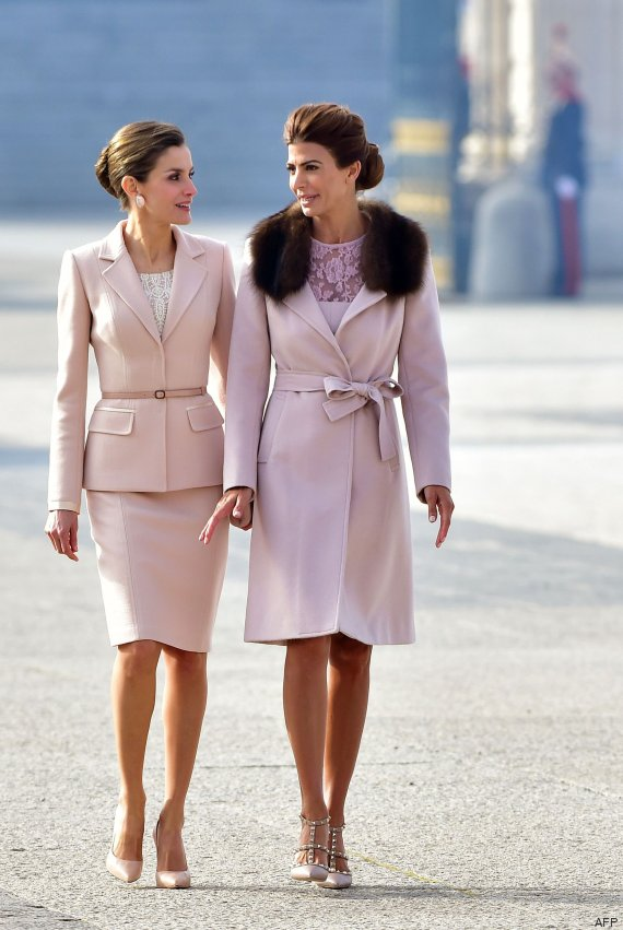 letizia juliana awada palacio real