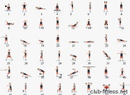 Ce GIF résume 48 exercices parfaits pour vous muscler