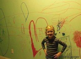 31 photos d'enfants qui ont mis leur maison sens dessus dessous
