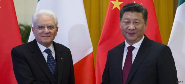 Mattarella incontra il presidente cinese Xi: